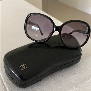 Chanel sunglasses with case. Authentic.